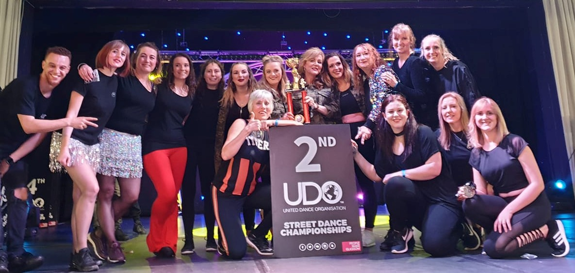New Generation's senior street dance crew at the UDO Championships.