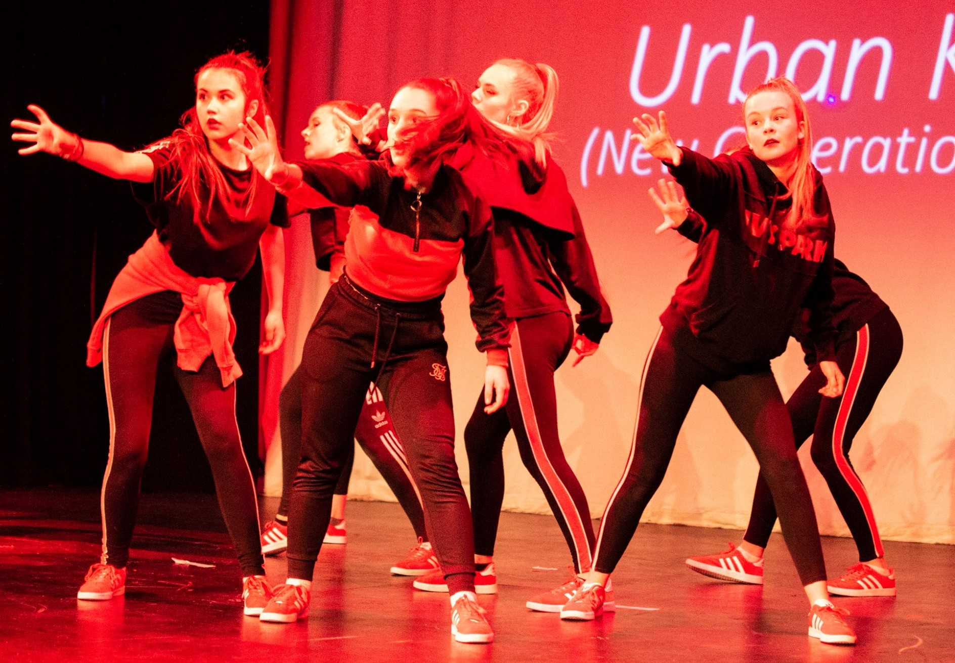 New Generation Dance competition crew Urban Kaos live in Bristol.